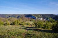 En descendant vers la vallée de l_Aveyron