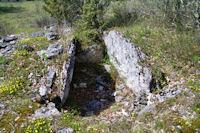 Le dolmen de Canelle