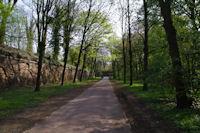 La fortification Sud Ouest dans le Bois de Boulogne
