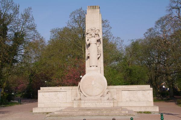 Le mémorial aux pigeons voyageurs