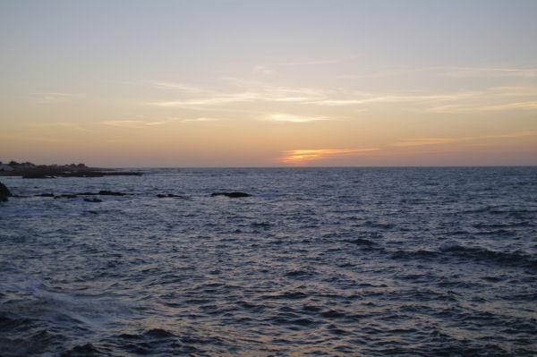Coucher de soleil à l_Ile d_Yeu