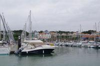 Port Bourgenay sous la grisaille
