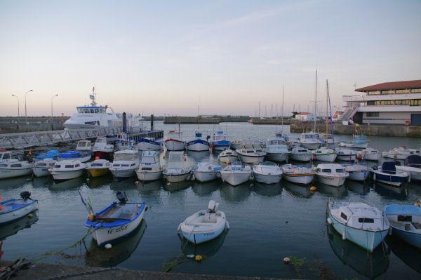 Port Joinville sur l_Ile d_Yeu