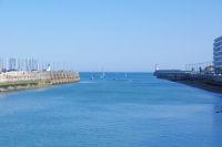 L'entree du Port des Sables d'Olonnes