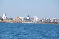 Le Fort St Nicolas a l'entree du chenal des Sables d'Olonne