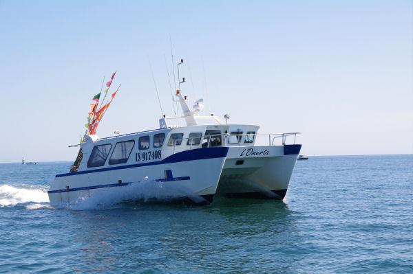 Pêcheur rentrant au port