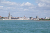 Lla Tour de la Lanterne, la Tour St Nicolas et la Tour de la Chaine a La Rochelle