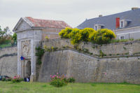 L'entree Nord de la Citadelle de St Martin de Re
