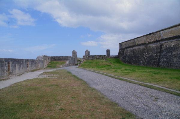 Les remparts de St Martin de Ré