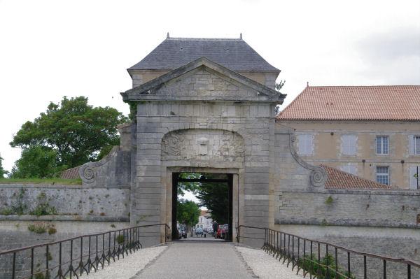 La Porte Sud de la Citadelle de St Martin de ré