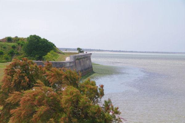 Le remparts du Port de St Martin de Ré
