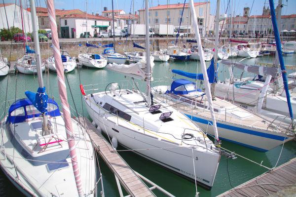 Notre bateau, un océanis 34 de Beneteau
