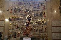 Mosaique de Saint-Jacques de Compostelle