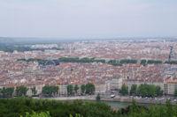 Lyon depuis Fourviere