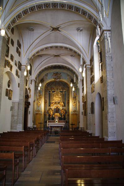 L_ancien sanctuaire dédié à la Vierge et à Saint-Thomas