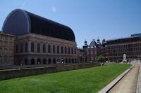 L'Opera et l'Hotel de Ville de Lyon