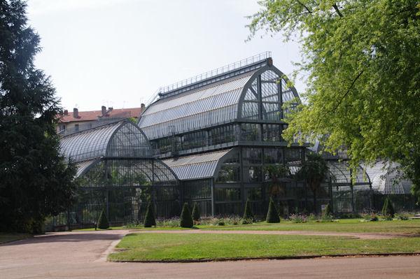 Les serres du Jardin Botanique