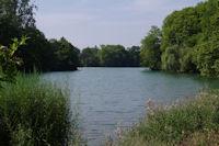 Le lac du Parc de la Tete d'Or