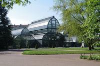 Les serres du jardin botanique du parc de la Tete d'Or