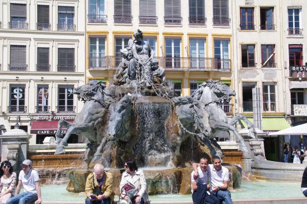 La Fontaine de Bartholdi, place des Terreaux
