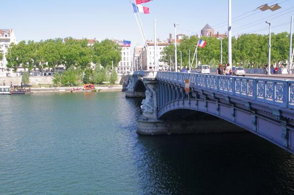 Le Pont Lafayette à Lyon