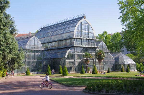 Les serres du Jardin Botanique du Parc de la Tête d_Or
