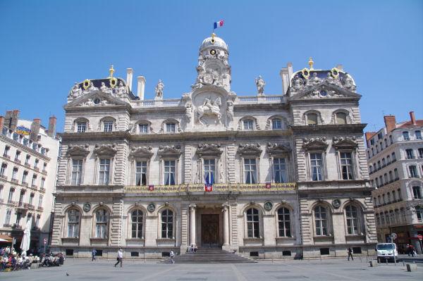 L_Hotel de Ville de Lyon palce des Terreaux