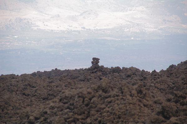 Cairn naturel sur la coulée de 1911