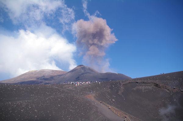 Explosion sur l_Etna