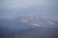 Un volcan eteind dans la plaine de l'Etna