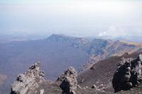 La Serra del Salifizio dans la caldera de l'ancien cratere de l'Etna