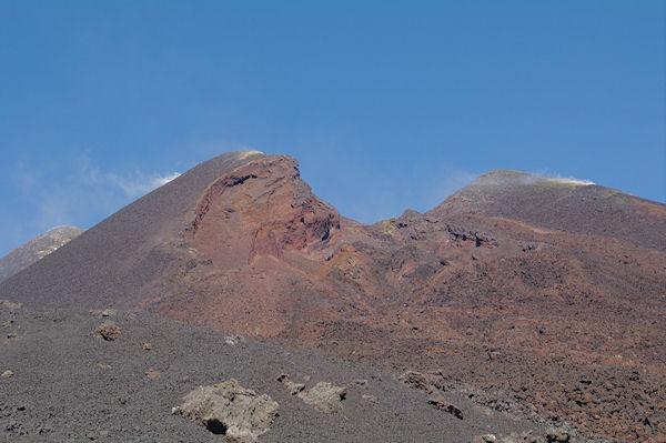 Le nouveau cratère Est de l_Etna