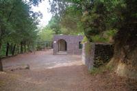 Une maison forestiere sur les pentes du Monte Fossa delle Felci