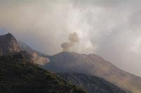 Un explosion sur le Stromboli