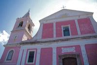 L'eglise San Bartolo a Stromboli