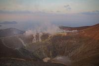 Le cratere du Vulcano