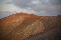 Les levres du cratere du Vulcano