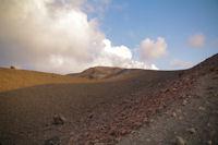 Le cratere du Vulcano est en vue
