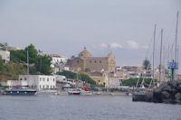 Le port de Pozzo d'Agnello a San Marina Salina