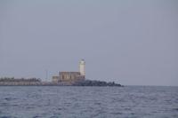 Le Phare Lingua sur l'Ile de Salina