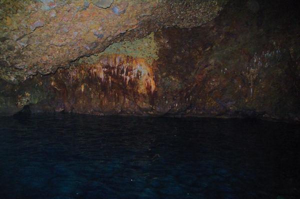 Une grotte à Punta Palmeto sur l_Ile de Lipari