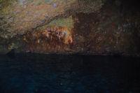 Une grotte a Punta Palmeto sur l'Ile de Lipari