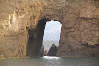 Pietra del Perciato sur l'Ile de Lipari