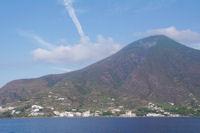 Le Monte Fossa delle Felci sur l'Ile de Salina